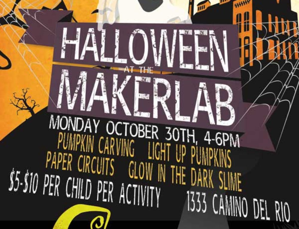 Halloween at the MakerLab!