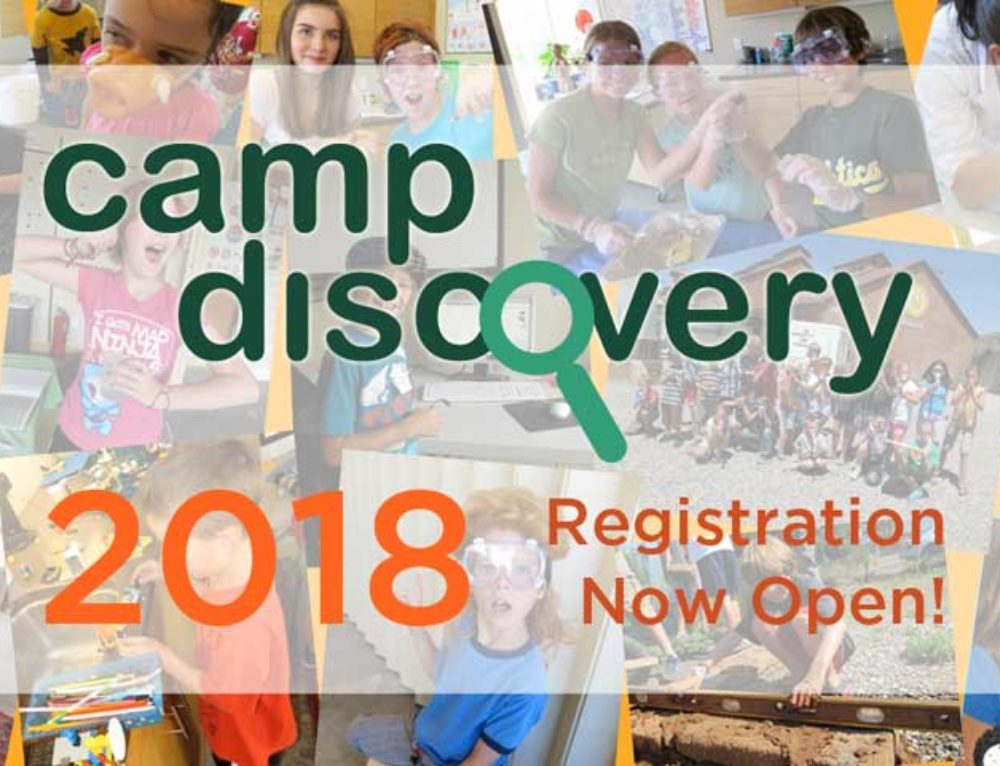 Camp Discovery 2018 – Registration Open!