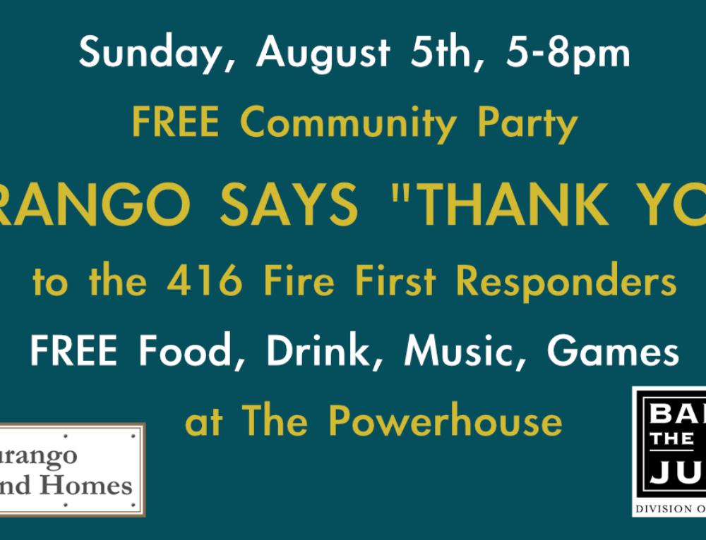 """Durango Says """"Thank You!"""""""