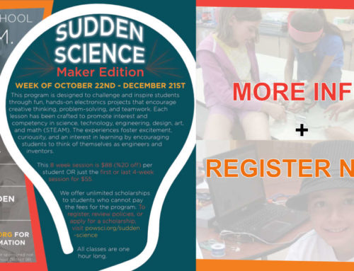 Sudden Science – Maker Edition!