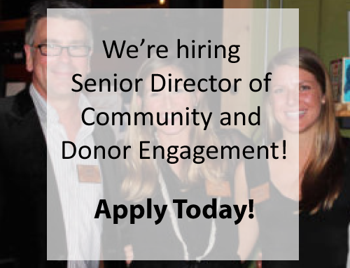 Hiring – Senior Director of Donor and Community Engagement